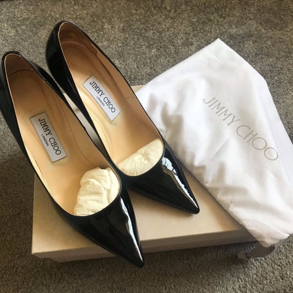 35fd87d6e5c Jimmy Choo Shoes | Abel Pointy Toe Pump Patent Leather | Poshmark